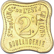 2 Francs - Boulangerie (Chalons) -  obverse