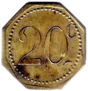 20 Centimes - Rennes  35 – reverse