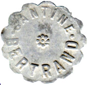 20 Centimes - Cantine Bertrand - Mailly-le-Camp [10] – obverse