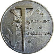 Medal - 44ème Régiment de Transmissions – obverse