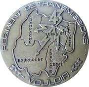 Medal - 43ème Régiment de Transmissions – obverse