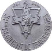 Medal - 51ème Régiment de Transmissions – obverse