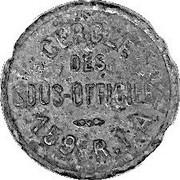 1 Franc - 159° Régiment d'Infanterie Alpine - (Briançon 05) – obverse