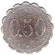 50 Centimes - 21ème Demi-Brigade Aérienne – reverse