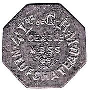 25 Centimes - 4éme Lon de GRM (Neufchateau) – obverse