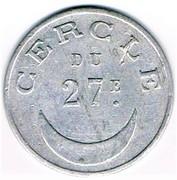 50 Centimes - Cercle du 27e (Tirailleurs Algériens) – obverse