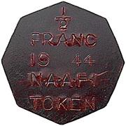 ½ Franc - NAAFI – obverse