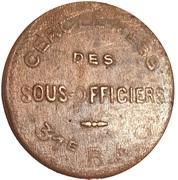1 Franc - Cercle-mess des Sous officiers 31e RAO – obverse