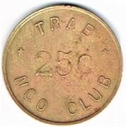 25 Cents - TRAB NCO Club (Toul) – reverse