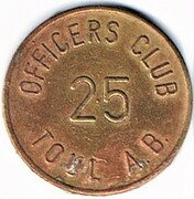 25 Cents - Officers Club (Toul) – obverse