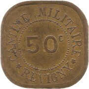 50 Centimes - Cantine Militaire (Revigny) – obverse