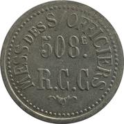 25 Centimes - 508e RCC Mess des Sous-Officiers – obverse
