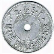 1 Franc - 2 R.E.I. – obverse