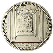 Restrike - Menus plaisirs 1746 Louis XVI - – obverse