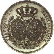 Visiting coin (Module 5 francs) – obverse