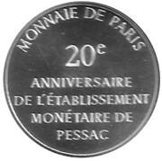 Token - Module 100 Francs – reverse