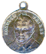 Medallion - A. Thiers – obverse