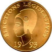 Medal - Elections legislatives – reverse
