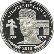 Token - Président de la République (Charles de Gaulle) – obverse