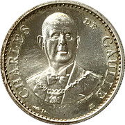 Token - Cinquième République (Charles de Gaulle 1958-1988) – obverse