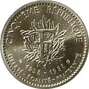 Token - Cinquième République (Charles de Gaulle 1958-1988) – reverse