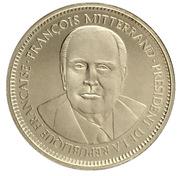 Medal - François Mitterrand - Second mandat – obverse