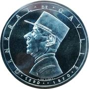 Token - Memorial Du General de Gaulle – obverse