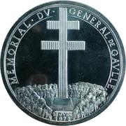 Token - Memorial Du General de Gaulle – reverse