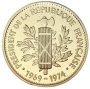 Medal - Président de la République (Georges Pompidou) – reverse
