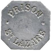 25 Centimes - Prison Saint-Lazare - Paris [75] – obverse