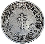 Medal - Conférence Saint Vincent de Paul (Morlaix) – obverse