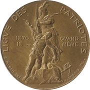 Token - National Shooting Competition (League of Patriots) – obverse