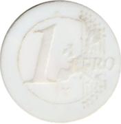 Shopping Cart Token - Leclerc (1 Euro) -  reverse