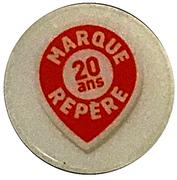 Shopping Cart Token - Leclerc (Marque Repère 20 ans) -  reverse