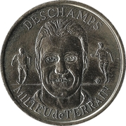 Token - Federation Francaise de Football - Continent Equipe de France (Deschamps) -  obverse