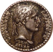 Token - Quinaire of the Coronation of the Emperor – obverse