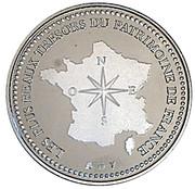 Token - Les plus beaux tresors du patrimoine de France (Tour Eiffel 1889) -  reverse