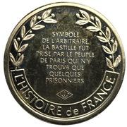 Token - L'Histoire de France (Prise de la Bastille) -  obverse