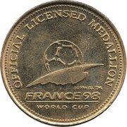 Official Licensed Medallion - France 98 World Cup (Holland) -  obverse