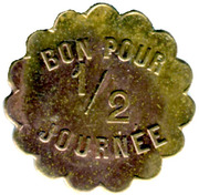 4½ Francs Société d'Affrètements - Le Havre [76] – obverse