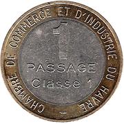 1 Passage - Pont de Tancarville (Passage Classe 1) – obverse