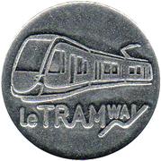 Token - Le Tramway Besançon – obverse