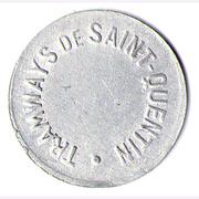 25 Centimes - Tramways de Saint Quentin   – obverse
