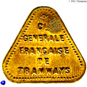 25 Centimes Compagnie Générale Française de Tramways  - Le Havre [76] – obverse
