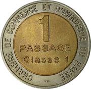 1 Passage classe 1 - Pont de Normandie – obverse