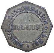 5 Centimes - Société de Consommation de l'Est (Mulhouse) – obverse
