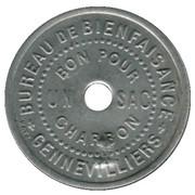 Bon pour un sac Charbon Bureau de Bienfaisance Gennevilliers 92 – reverse