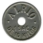 1 Sac de 10 Kilos (Charbon) - Alriq - Paris [75] – reverse