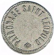 1 Franc - Patronage Saint Léopold (Nancy) – obverse