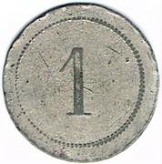 1 Franc - Patronage Saint Léopold (Nancy) – reverse